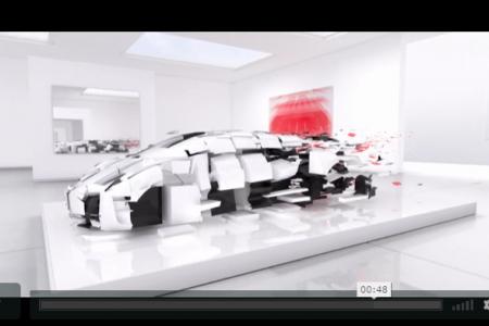 A new Bugatti EB110 for the competition of Pebble Beach