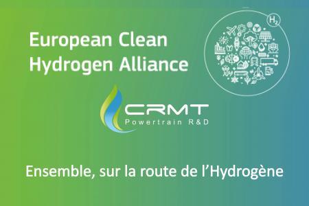 EUROPEAN CLEAN HYDROGEN ALLIANCE - CRMT: a new breakthrough on the hydrogen road