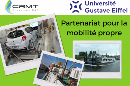 CRMT and Gustave Eiffel University formalise their collaboration through a framework agreement