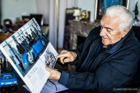 Romano Artioli, CRMT's CEO and godfather of the Bugatti EB110