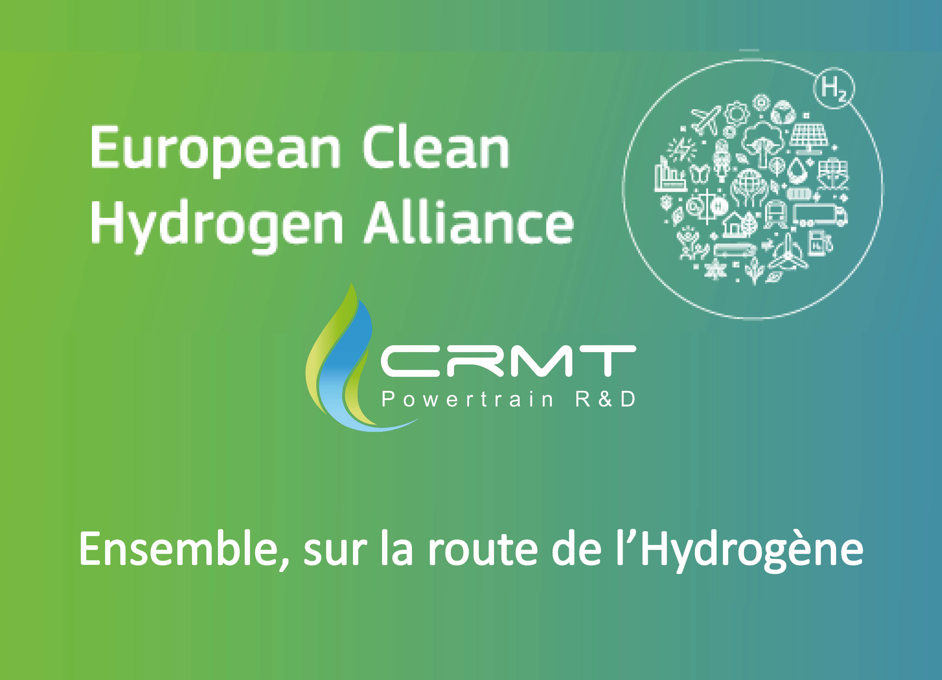 HYDROGENE EUROPE VERT MOBILITE TRANSPORT ALLIANCE EXPERT CRMT